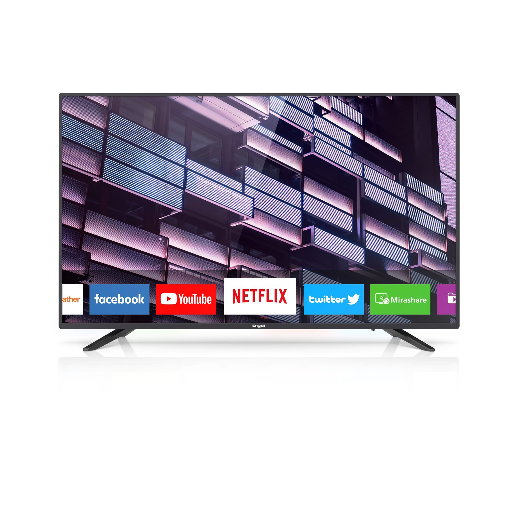 Tv Televisión  ENGEL LE4060SM LED De 40 Pulgadas Smart Tv (Netflix Y WiFi)