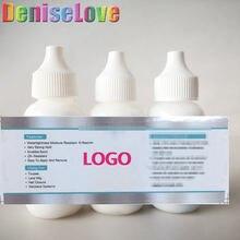 Кружевной передний парик клей логотип полный кружевной сделанный