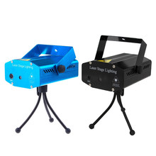 TSLEEN Sound Control LED Laser Projector Club Disco Bar Stage Show House Lighting Party DJ Disco KTV Light Red+Green Star(China)
