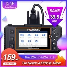 Foxwell NT624 Elite OBD2 EOBD otomotiv tarayıcı tam sistem kod okuyucu EPB yağ sıfırlama OBD 2 otomatik tarayıcı araç teşhis aracı
