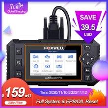 Foxwell NT624 Elite OBD2 EOBD skaner samochodowy pełny układ czytnik kodów EPB Reset oleju OBD 2 Auto skaner narzędzie diagnostyczne do samochodów