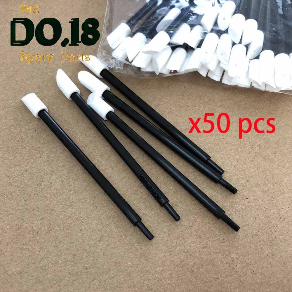 50PCS T-21 Clean Swabs For Ruby Stick T-21 Cleaning Swabs For Rubystick Printhead Cleaning Swab