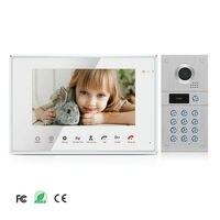 7 Recording Monitor Wired 720P AHD Video Door Phone Home Intercom Doorbell System RFID Code Keypad IR Camera Free Shipping