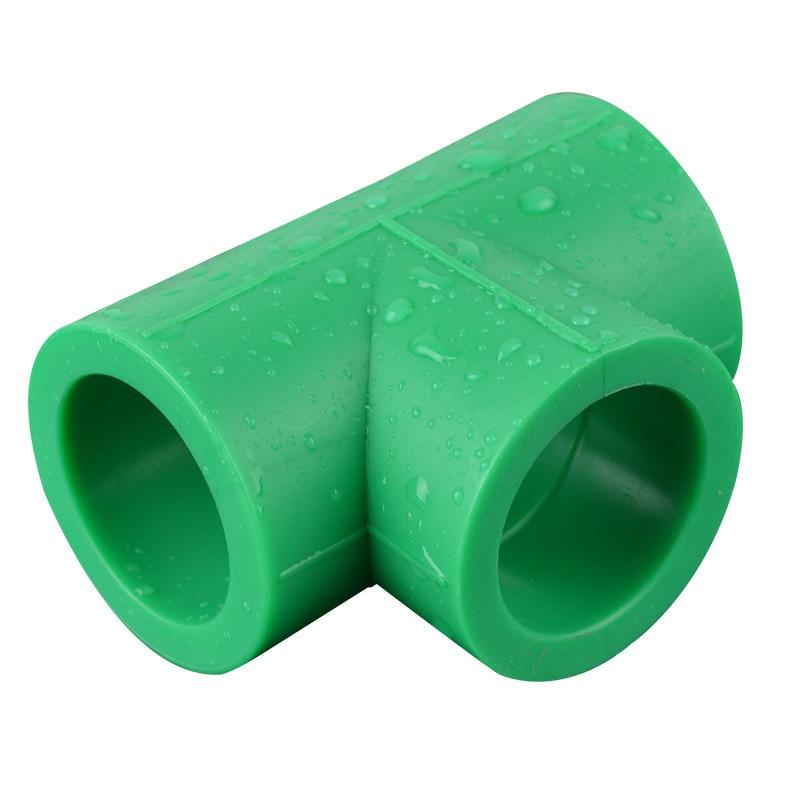 Yu Clean Water Plumbing Accessories PPR Equal Diameter Tee Joint National Standard PPR Tee Coupling PPR Hose Accessories Hot Mel