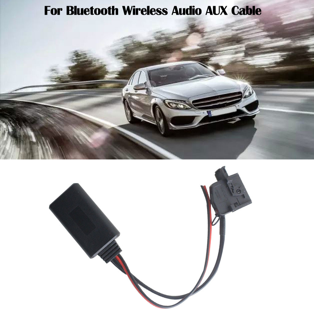 For Bluetooth Wireless Audio AUX Cable For Mercedes Comand 2.0 W211 R170 W164 for all mobile phone/PAD with Bluetooth function image