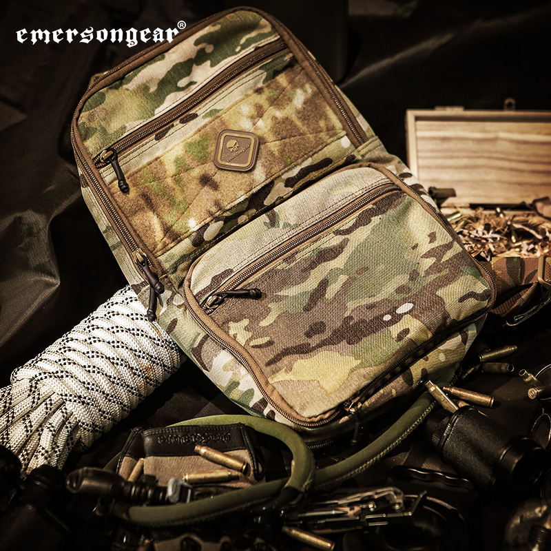 Emersongear D3 Tactical Bag Backpack D3 Dual-Use Outdoor Bag Tactical Shoulder Bags Hydration Carrier MOLLE Military Army Bag