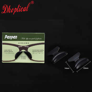 free shipping acetate glasses nose pad silicone nose pad panpan 10pair 3M glue wholesale
