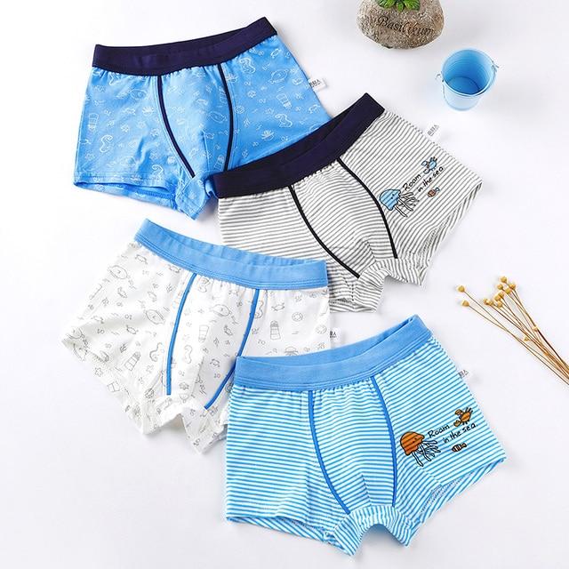 Boys Cotton Underwear Set  5