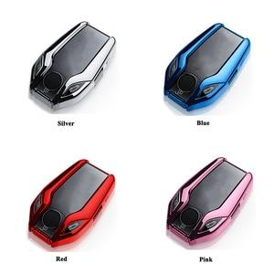 Image 5 - SEEYULE coque de clé TPU écran LED de voiture, accessoires pour BMW 5, 6, 7, G11, G12, G30, G31, G32, i8, I12, I15, X3, G01, X4, G02, X5, G05, X7, G07