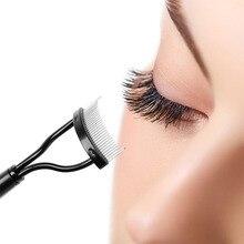 1 Pc Portable Mascara Guide Applicator Eyelash Clumps Remove