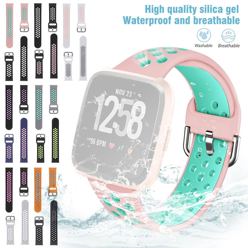 Replacement Watch Bands Silicone TPU Breathable Wristbands S
