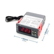 Controlador Digital de temperatura termostato termoregulador para la incubadora de LED 10A calefacción, refrigeración, STC-1000 12V 12V 24V 220V