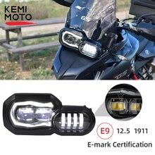110W farlar BMW için LED ışıkları F650GS F700GS F800GS ADV macera F800R motosiklet ışıkları komple LED farlar meclisi