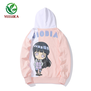 Image 4 - 2019 New Cartoon Anime Fire Shadow Couple Theme Hoodie Fashion Hip Hop Sports Men and Women Ins Loose Trend Versatile Top Naruto