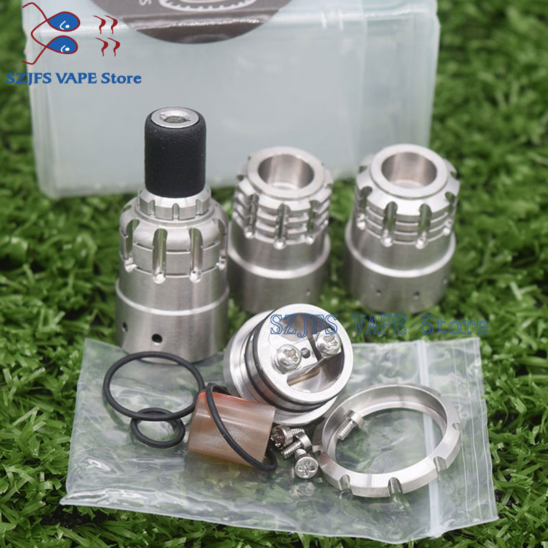 E Cigarette 900 Bf Rda MTL 316 Ss 18mm Diameter Low-loader Rebuildable Atomizer VS Indestructible Tank Reloa S Tauren Druga RDA