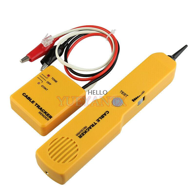 Portabl RJ11 Network Phone Cable Tester Toner Wire Tracker Trace Networking Tool