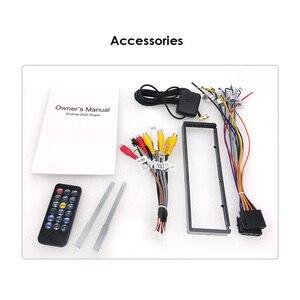 Image 5 - 유니버설 1 din 안드로이드 10 쿼드 코어 자동차 DVD 플레이어 GPS 와이파이 BT 라디오 BT 2GB RAM 32GB rom 16GB 4G SIM 네트워크 스티어링 휠 RDS