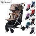 Yoya plus 4 Baby stoller Lichtgewicht wandelwagen Yoya plus serie winkelwagen Draagbare Baby trolley 2 in 1 baby auto 5 gratis geschenken