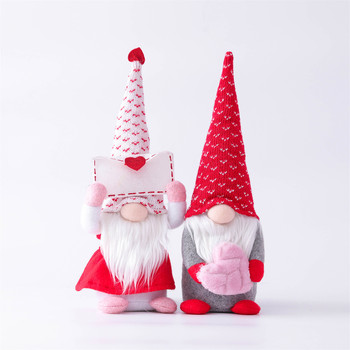 Valentine's Day Faceless Doll Decorations For Home Cristmas Ornament Xmas Navidad Natal New Year 2021 Decorations Bedroom image