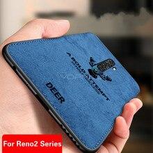 Classic Fabric Case For OPPO Reno2 Z F 2