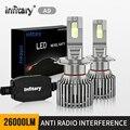 Светодиодные лампы Infitary hb4, 9005 лм, 9006 лм, h4, h7, H1, H11, H3, 9004, HB3, 9007, HB4, H4, 9012, HB1, HB5,