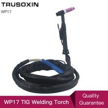 Tig welding torch WP26 WP17 TIG welding torch TIG26 argon 4 m 13 ft air-cooled welding torch wp26 wp 26 air cooled argon tig welding torch 4m gas and power whole