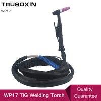 Tocha de soldagem tig wp26 wp17  tocha de soldagem tig 4 m 13 pés tocha de soldagem refrigerada à ar