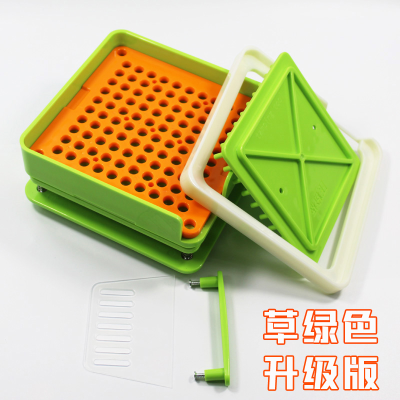 0#100 Hole ABS Capsule Filling Plate / Capsule Filling Device / Filling Manual Capsule Manual Packaging Machine