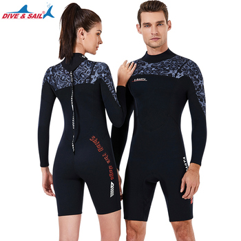 Men Women's Wetsuits Thermal Suit Sleeves 1.5mm Neoprene Youth Adult's Diving Swimming Snorkeling Surfing Scuba Jumpsuit Warm