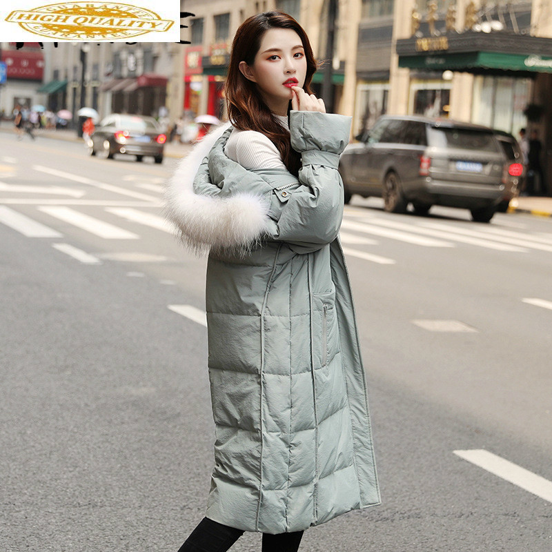 2020 Winter Women's Down Jacket Hooded Korean Puffer Coat Female Jacket Duck Down Coat Chamarras De Mujer 9618 YY1243