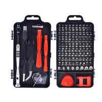 110 in1 Schraubendreher-satz Multi-funktion Präzision Schraubendreher-bits Torx PC Handy Gerät Reparatur Hand Werkzeuge