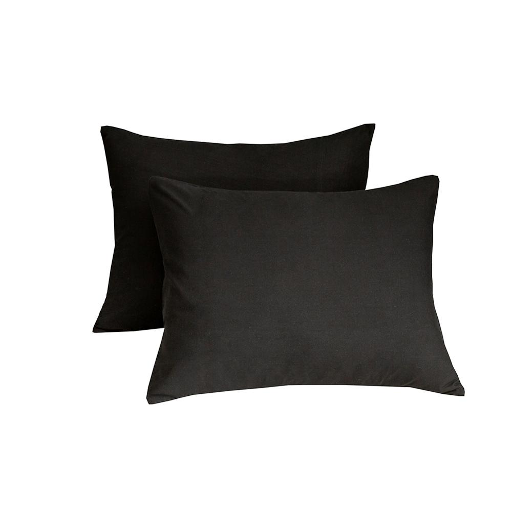 Bonenjoy 1pc Black Color Fitted Sheet Single/Queen/King Size drap de lit Bed Sheet Sets Solid Double Bed Sheets (no Pillowcase) 4