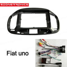 1din 2Din Auto DVD Rahmen Audio Fitting Adapter Dash Trim Kits Facia Panel 9 zoll Für Fiat UNO 2019 Doppel din Radio Player