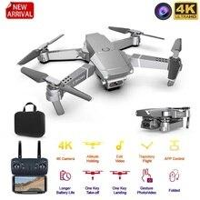 Drone mini zangão 4k 1080p câmera grande angular zangão wifi