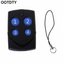 315/433MHz Copy Remote Control 4 Channel Cloning Duplicator Key Fob Learning Code Electric Controller for Home Garage Door electric control lock remote control system press on release off time delay 3 12s garage entrance door remote controller 315 433