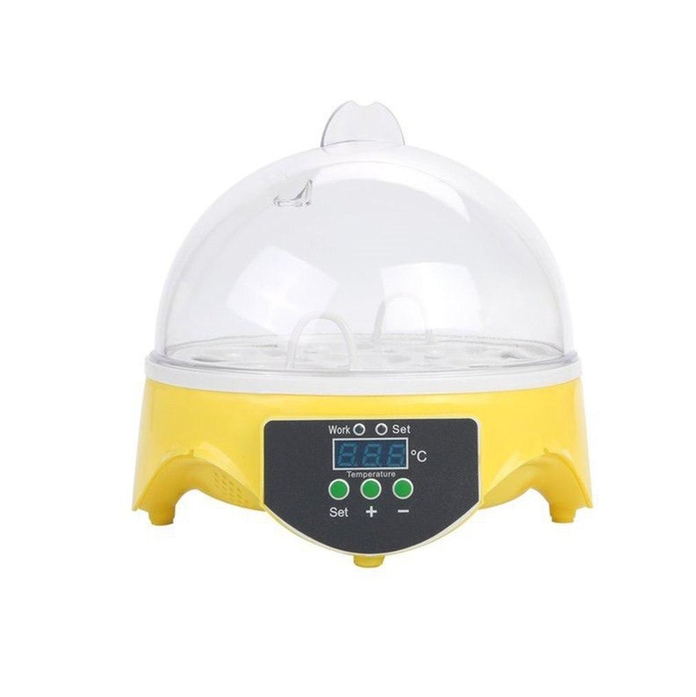 7 Eggs Capacity Chicken Eggs Bird Incubator Egg Rack Tray Automatic Intelligent Control Quail Parrot Incubation Tool EU Plug