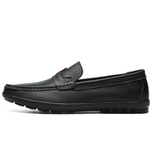 цены VKERGB Fashion Leather Shoes Men Genuine leather Slip On Lazy Shoes Walking Boat Designer Shoe Loafers Moccasins Handmade Flats