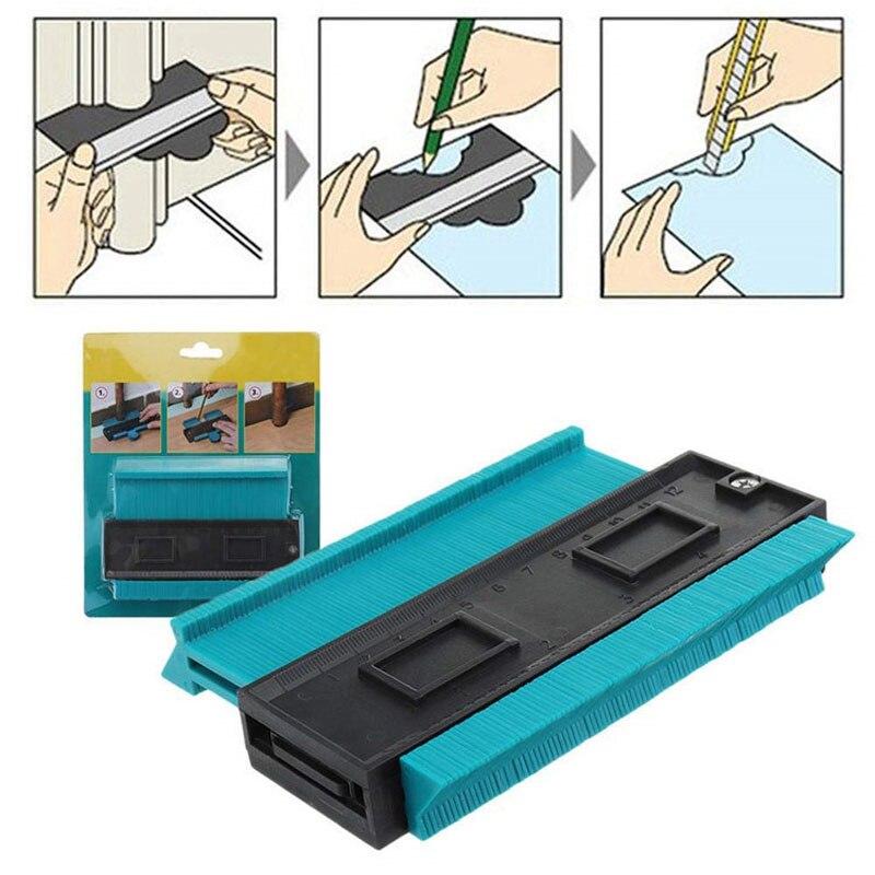 5 Inch Smart Contour Duplicator Multi-function Contour Profile Gauge Marking Tool Tiling Laminate Tiles General Tools