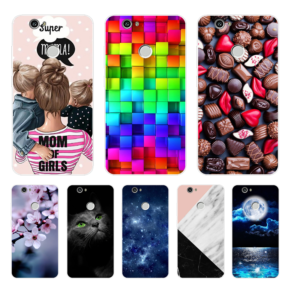 """Case Cover For Huawei Nova CAN-L12 CAN-L11 CAN-L01 CAN-L02 CAN-L03 CAN-L13 CAZ-AL10 Case Cover 5.0"""" Soft TPU Silicon Phone Cases"""