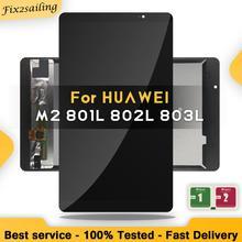 New LCD 8.0 For Huawei Mediapad M2 LCD M2-801L M2-801 M2-801W M2-803L Matrix Screen Touch Screen Sensor Replacement