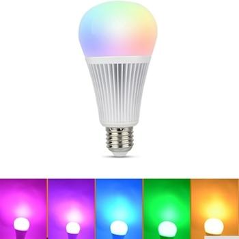 New Hot Mi.light 2.4G 4W 5W 6W 9W 12W Led Bulb,MR16 GU10 E14 E27 Led Lamp Smart Wireless CCT RGBW RGBWW RGB+CCT Led Light 2 4g wireless mi light led bulbs 85 265v dimmable gu10 e27 led lamp 4w 6w 9w rgbw rgbww led light bulb