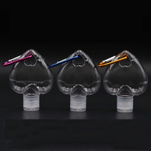 Bottle Disinfectant-Bottle Hand-Sanitizer Refillable Creative 50ml Mini Pulsera Heart-Shape