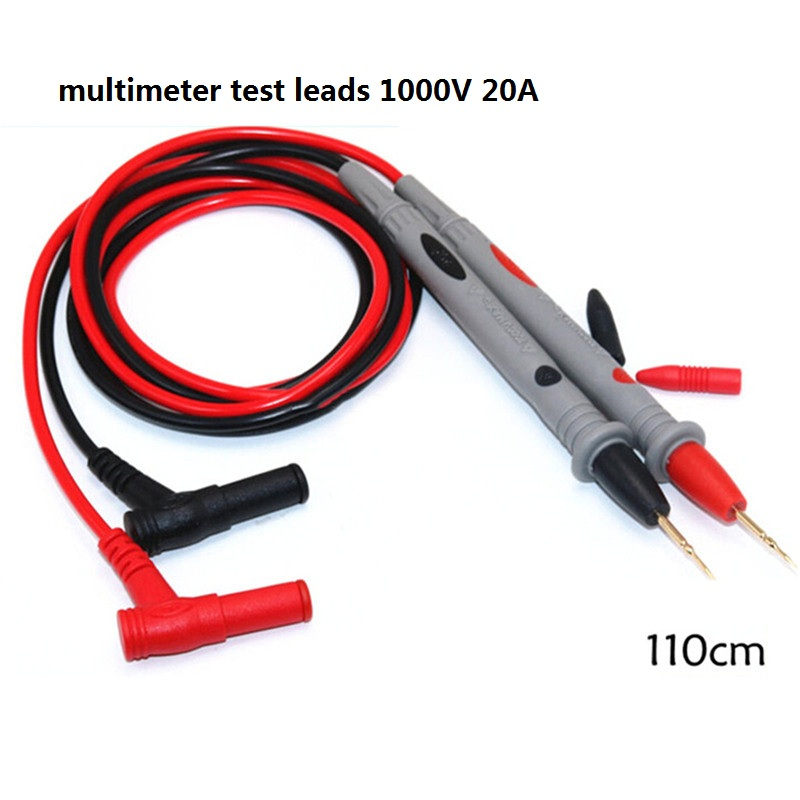 Hot Selling ZOYI Multimeter Test Leads 1000 V 20A Thin Tip Needle Point Multimeter Probe Multimeter Cable Improvement Tools