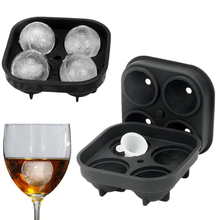 4 Hole 3D Diamond Shape Ice Cube Tray Silicone Mold For Whiskey Wine Cream Maker Chocolate Bar Tool Kitchen Accessories