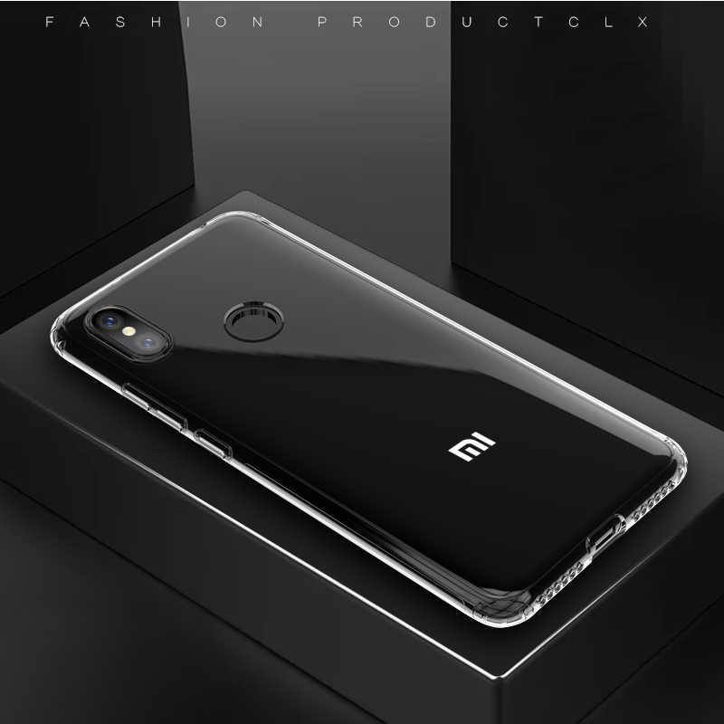 Transparan Phone Case untuk Xiaomi Redmi 6 6A 7 7A 5 Plus K20 Pro Shockproof Cover untuk Redmi Note 7 8 6 5 Pro Lembut dan Tipis Dana