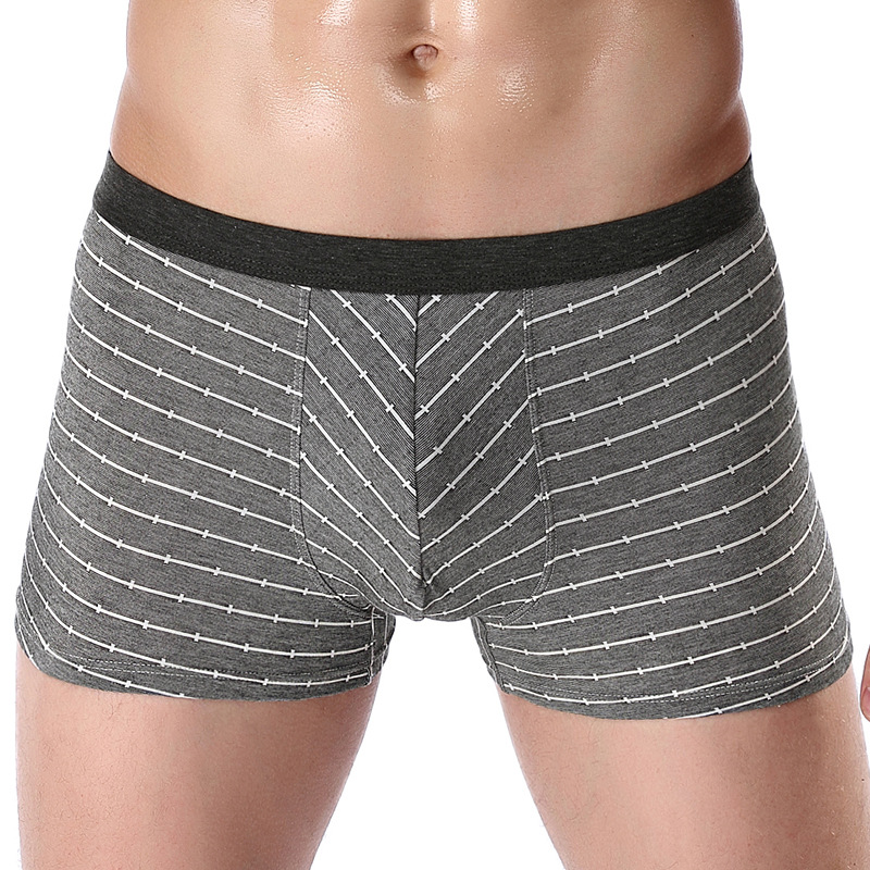 Мужское нижнее белье хлопковое, боксеры Красочные мужские свободные шорты трусы большие короткие дышащие эластичные шорты Боксеры