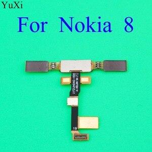 Image 3 - YuXi Finger Print Sensor for Nokia 8 TA1004 TA1052 TA 1004 TA 1052 Home Button Fingerprint Menu Return Key Sensor Flex Cable