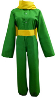 The Little Prince Cosplay Costume Halloween Carnival Uniform For Adult and Kids Custom Made Uniform
