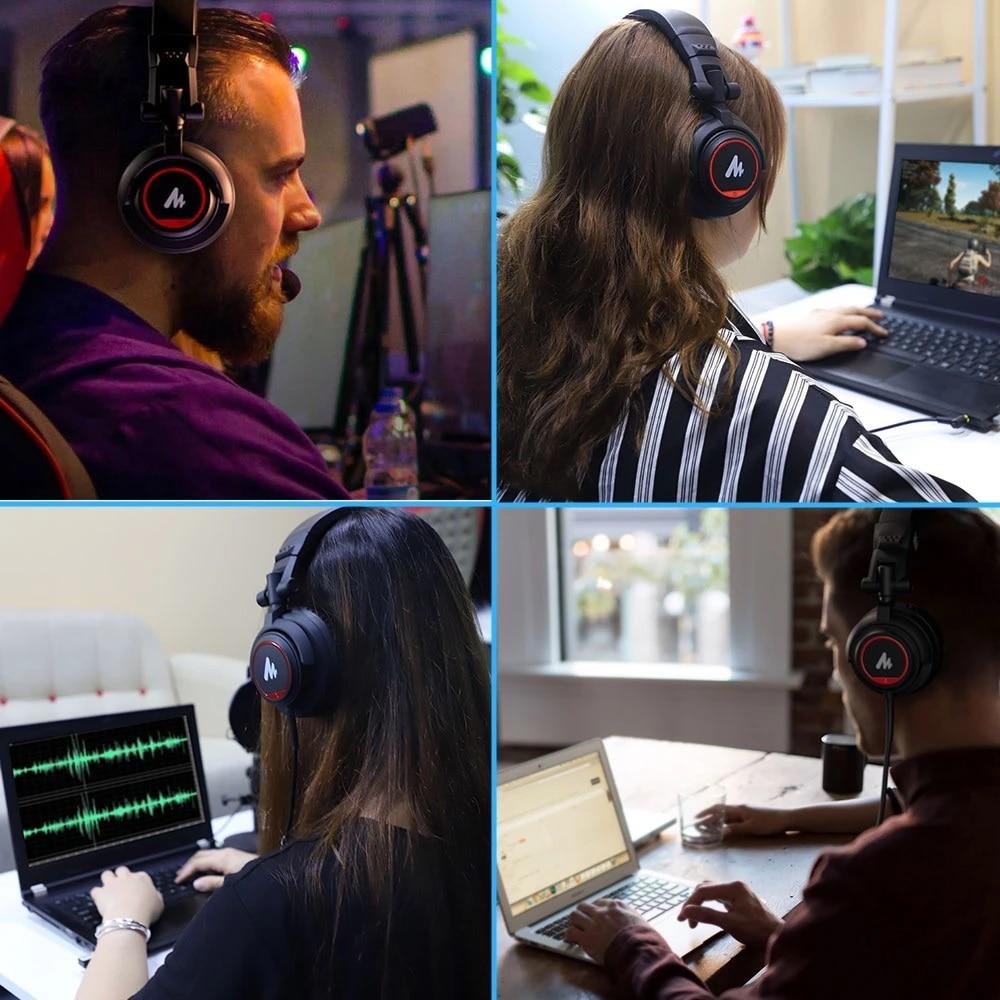 Maono AU-MH501 Professional Studio Monitor Headphone 9
