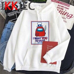 Among Us Amoung Us hoodies men printed Oversized harajuku plus size men hoody anime